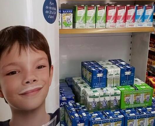 Gran recollida de llet a Ca l'Armenter